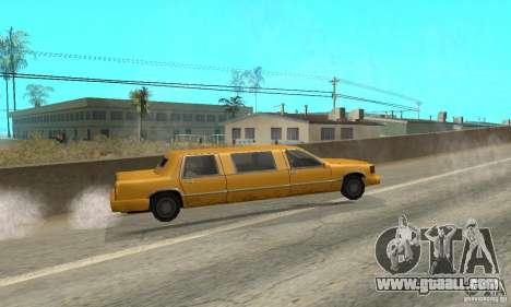 VIP TAXI for GTA San Andreas sixth screenshot