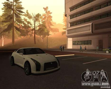 Nissan GT-R Pronto for GTA San Andreas right view