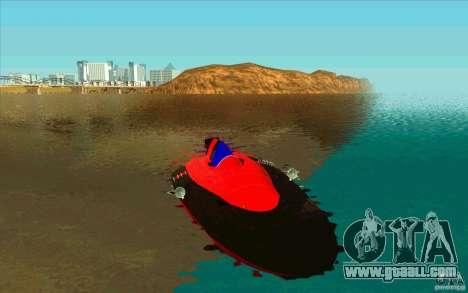 Race Boat for GTA San Andreas