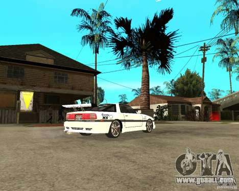 Toyota Supra MK3 Tuning for GTA San Andreas right view