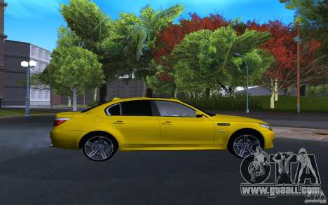 BMW M5 Gold Edition for GTA San Andreas right view