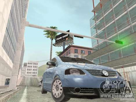 Volkswagen Fox 2011 for GTA San Andreas back left view