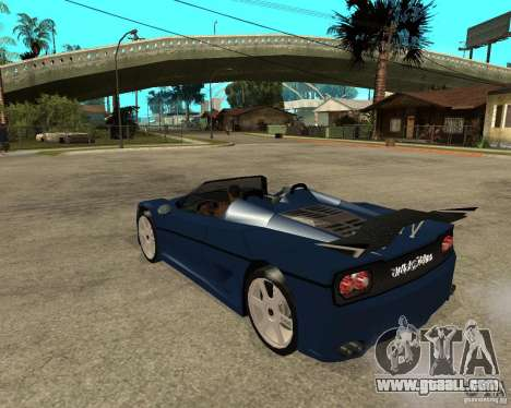 Ferrari F50 - special tuning by JvtDeSiGn for GTA San Andreas left view