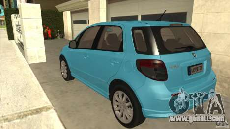 Suzuki SX4 Sportback 2011 for GTA San Andreas back left view