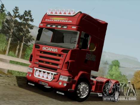 Scania R620 Brahma for GTA San Andreas