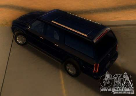 Cadillac Escalade ESV 2006 for GTA San Andreas back left view