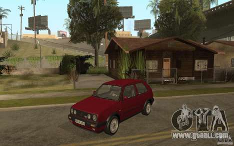 VW Golf Mk2 GTI for GTA San Andreas back view