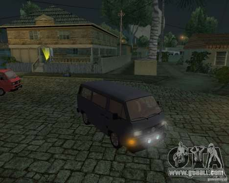 Volkswagen Transporter T3 for GTA San Andreas right view
