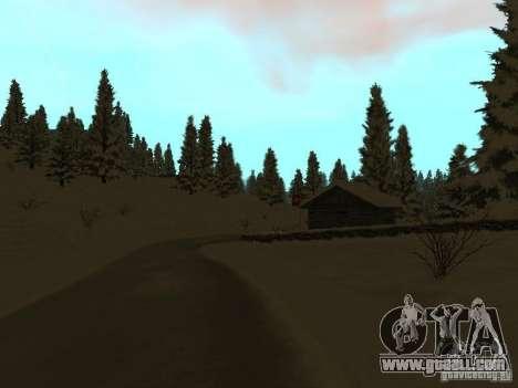 Winter Trail for GTA San Andreas forth screenshot