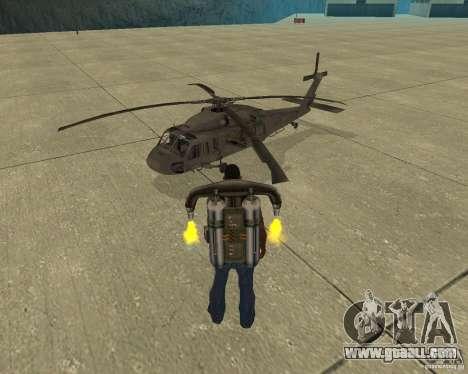 Pak air transport for GTA San Andreas bottom view