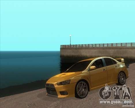 ENB from GTA VI come Back for GTA San Andreas
