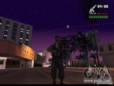 Starry sky v2.0 (for SA: MP) for GTA San Andreas third screenshot