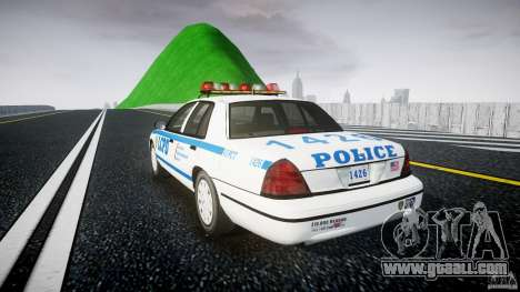 Ford Crown Victoria Police Department 2008 LCPD for GTA 4 back left view