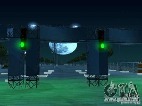 Drag route v 2.0 Final for GTA San Andreas third screenshot