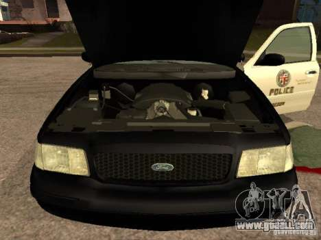 Ford Crown Victoria 2003 Police for GTA San Andreas right view
