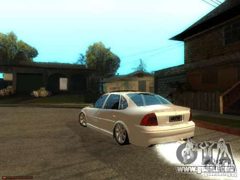 Chevrolet Vectra CD 2.2 16V 2003 for GTA San Andreas left view