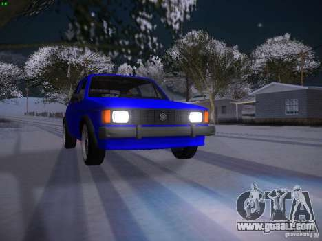 Volkswagen Rabbit GTI for GTA San Andreas upper view