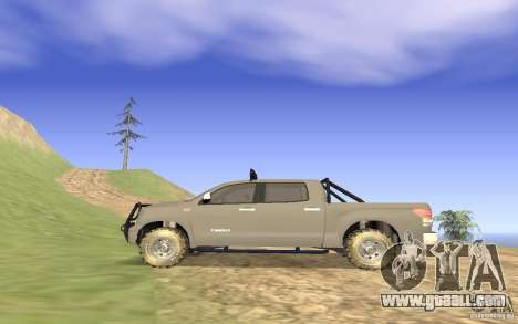 Toyota Tundra 4x4 for GTA San Andreas left view