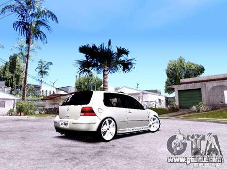 Volkswagen Golf MK4 for GTA San Andreas left view