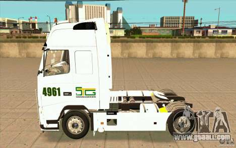 Volvo FH16 Globetrotter STG for GTA San Andreas left view