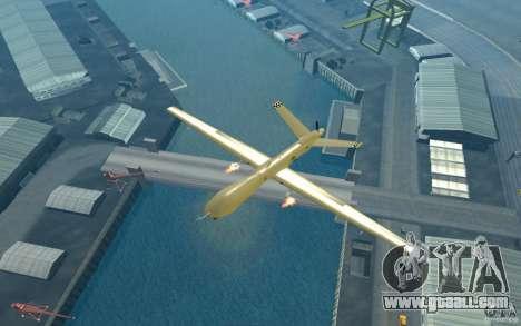 RQ9 Predator for GTA San Andreas right view