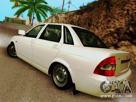LADA 2170 Suite v2 for GTA San Andreas