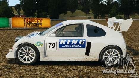 Colin McRae KING Rallycross for GTA 4 left view