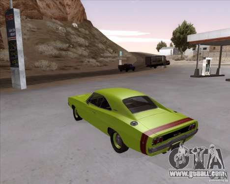 Dodge Charger RT 440 1968 for GTA San Andreas left view