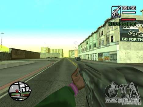 First person (First-Person mod) for GTA San Andreas seventh screenshot