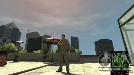 Ganja PhoneCell Theme v2 for GTA 4 second screenshot