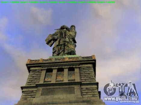 Statue of liberty 2013 for GTA San Andreas seventh screenshot