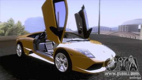 Lamborghini Murcielago LP640 2006 V1.0 for GTA San Andreas side view