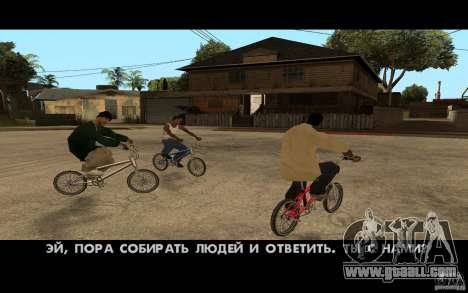 New Bandon Grove-Street for GTA San Andreas third screenshot