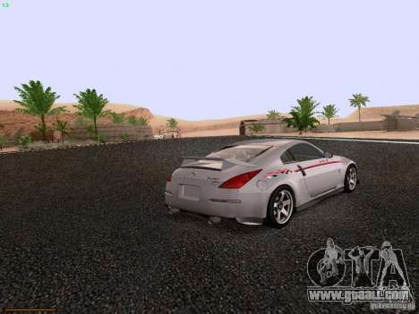 Nissan 350Z Nismo S-Tune for GTA San Andreas right view