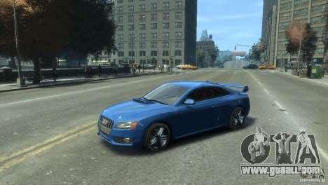 Audi S5 1.1 for GTA 4 back left view