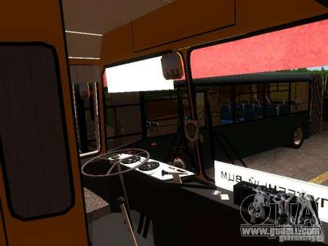 LAZ-4202 for GTA San Andreas upper view