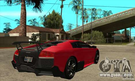 Lamborghini Gallardo LP570-4 SV for GTA San Andreas right view