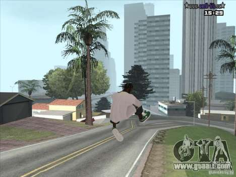 New skin Suite for GTA San Andreas third screenshot
