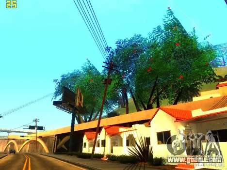 Perfect vegetation v. 2 for GTA San Andreas fifth screenshot