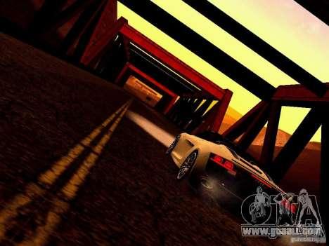 Audi R8 5.2 FSI Spider for GTA San Andreas inner view