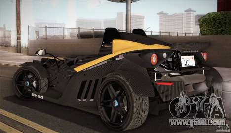 KTM-X-Bow for GTA San Andreas bottom view