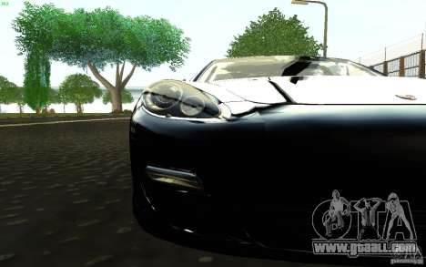 Porsche Panamera Turbo for GTA San Andreas right view