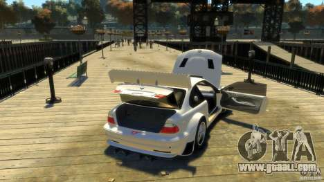 BMW E46 M3 GTR Sport for GTA 4 side view