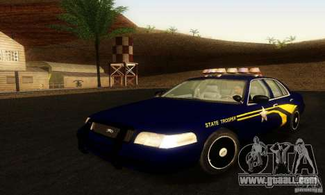 Ford Crown Victoria Orgeon Police for GTA San Andreas