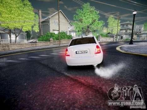 Hyundai Accent Era for GTA 4 back view