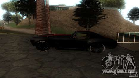Shelby Cobra Dezent Tuning for GTA San Andreas left view