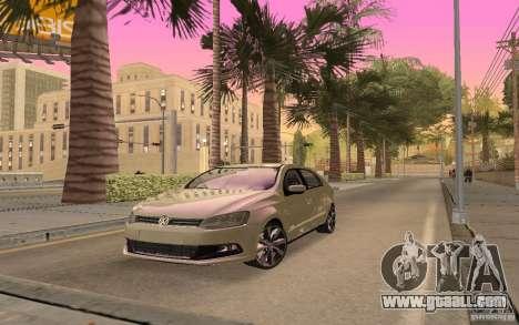 Volkswagen Gol G6 for GTA San Andreas back left view