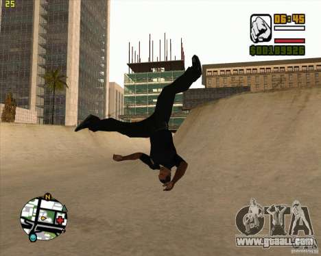 39 animations of the game Assassins Creed for GTA San Andreas