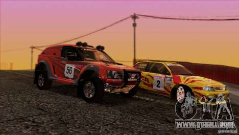 Seat Ibiza Rally for GTA San Andreas