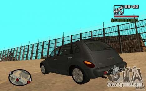 Chrysler PT Cruiser for GTA San Andreas left view